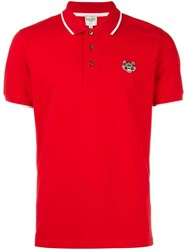 Kenzo Mini Tiger Polo Shirt Red
