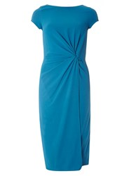 Dorothy Perkins Lily And Franc Blue Crepe Shift Dress