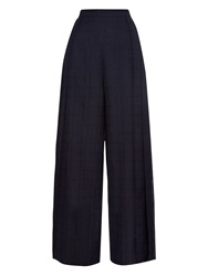 1205 Lith Pleated Wide Leg Trousers