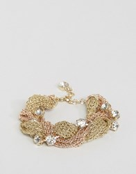 Coast Plaited Bracelet Gold