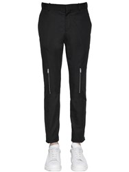 Alexander Mcqueen 16.5Cm Organic Cotton Drill Pants
