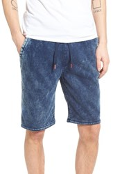 True Religion Men's Brand Jeans Decayed Terry Knit Sweat Shorts
