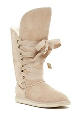 Australia Luxe Collective Bedouin Tall Genuine Shearling Boot Beige