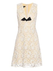 Burberry Floral Macram Lace Sleeveless Dress