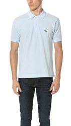 Lacoste Short Sleeve Classic Polo Shirt Rill Light Blue