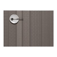 Chilewich Mixed Weave Luxe Placemat Topaz