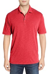 Men's Tommy Bahama 'New Paradise Around Spectator' Polo Red Cherry