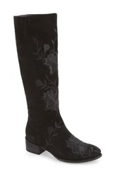Seychelles 'S Callback Embroidered Boot Black Suede