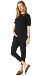 Hatch The Walkabout Jumpsuit Black