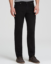 Ag Adriano Goldschmied Jeans Graduate New Tapered Fit Super Black
