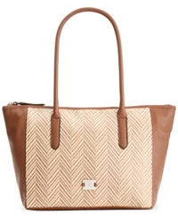 Style And Co. Americana Tote Straw