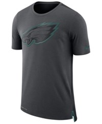 Nike Men's Philadelphia Eagles Travel Mesh T Shirt Anthracite