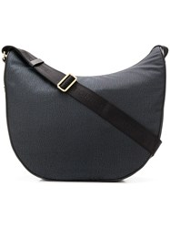 Borbonese Oversized Shoulder Bag Black