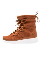 Nike Sportswear Roshe One Laceup Boots Tawny Lotus Sail Cognac
