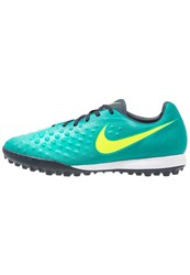 Nike Performance Magista Onda Ii Tf Astro Turf Trainers Rio Teal Volt Obsidian Clear Jade Mint