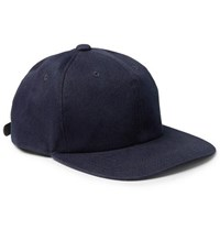 Blue Blue Japan Cotton Blend Twill Baseball Cap Indigo