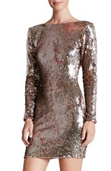 Women's Dress The Population 'Lola' Backless Sequin Minidress