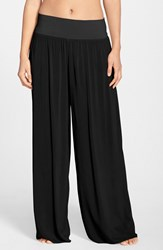 Women's Hard Tail Wide Leg Pants Black