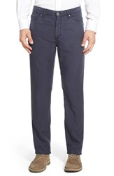 Men's Peter Millar Straight Leg Twill Pants Navy