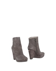 Liu Jo Shoes Ankle Boots Grey