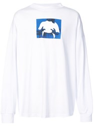 Alyx Peace Sign T Shirt White