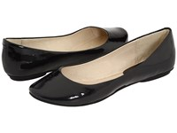 Kenneth Cole Reaction Slip On By Black Patent Women's Flat Shoes