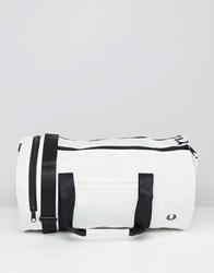 Fred Perry Barrel Bag 129 Snow White