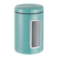 Wesco Classic Line Canister With Window 2L Turquoise
