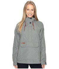 Columbia South Canyon Creek Anorak Sedona Sage Women's Coat Gray