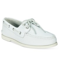 Sperry Men's Authentic Original A O Boat Shoes Men's Shoes White