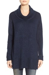 Women's Rd Style Cowl Neck Sweater Blue Depths