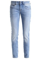 G Star Gstar Lynn Mid Skinny Slim Fit Jeans Lt Aged Blue Denim