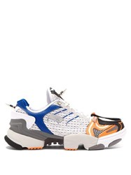 Vetements X Reebok Spike Runner 400 Low Top Trainers Orange White