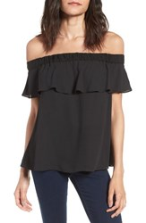 Chelsea 28 Women's Chelsea28 Off The Shoulder Bow Back Shirt