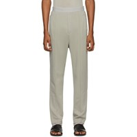 Haider Ackermann Grey Tailored Lounge Pants