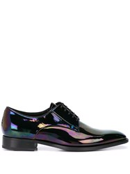 Givenchy Iridescent Effect Derby Shoes Black