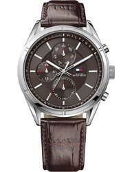 Tommy Hilfiger 1791126 Leather And Stainless Steel Watch