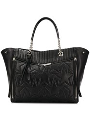 Jimmy Choo Helia Shopper Tote Black