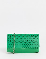 Ted Baker Sallia Cut Out Clutch Bag Green