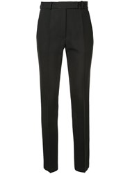 Martin Grant Classic Pants Women Silk Virgin Wool 34 Black