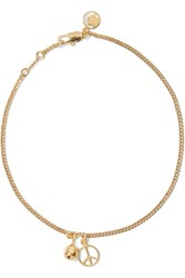 Chloe Gold Plated Anklet One Size