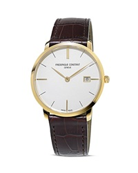 Frederique Constant Classics Slimline Quartz Watch 39Mm