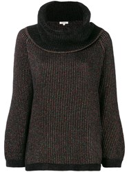 Manoush Ribbed Sweater Black
