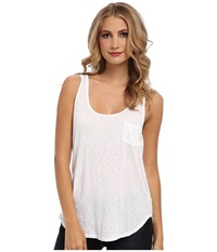 Lamade Boyfriend Tank W Pocket White Women's Sleeveless