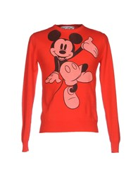 Jc De Castelbajac Sweaters Red