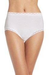 Natori Women's Bliss Cotton Full Brief White
