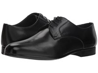 Canali Plain Toe Oxford Black Plain Toe Shoes