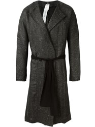 Damir Doma Robe Coat Black