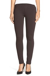 Women's Sanctuary Check Plaid Leggings Mulberry