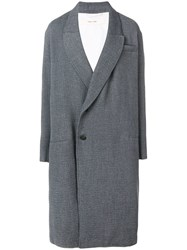 Damir Doma Oversized Coat Grey